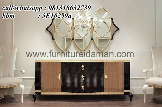Buffet TV luxury Italian Model Terbaru