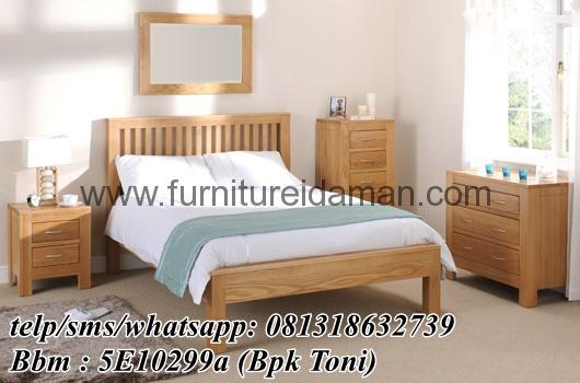 Set Tempat Tidur Minimalis Simple Murah Ksi 02