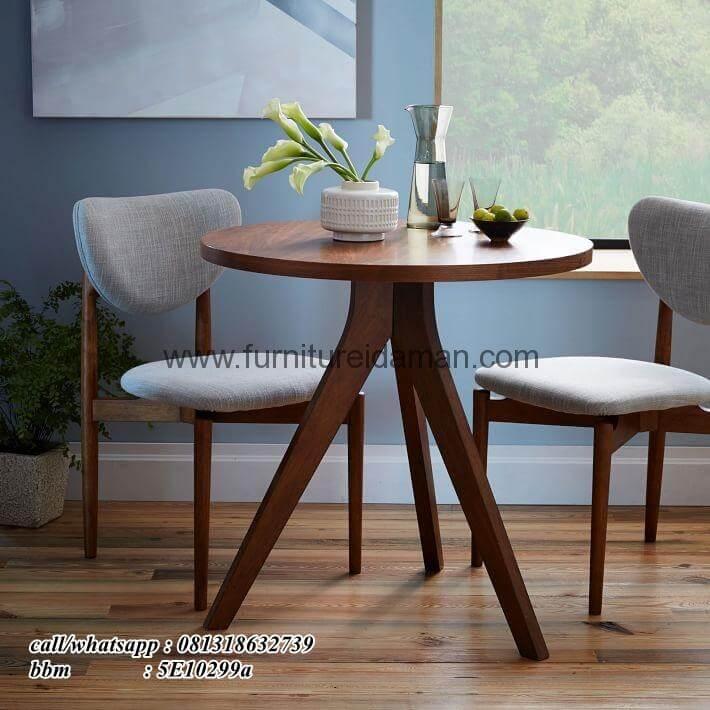 Set Kursi Cafe Resto Meja Bundar Kci 107 Furniture Idaman Furniture Idaman