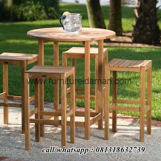 Set Kursi Meja Bar Outdoor Terbaru Kci 120 Furniture Idaman