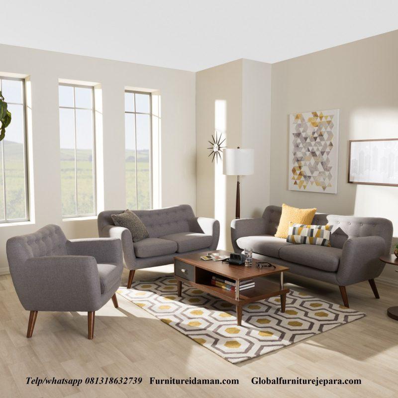 Kursi Sofa Tamu Minimalis Terbaru Ksi 109 Furniture Idaman