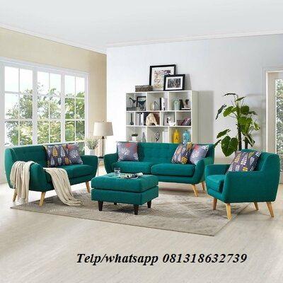 Sofa Tamu Minimalis Retro Ksi 102 Furniture Idaman