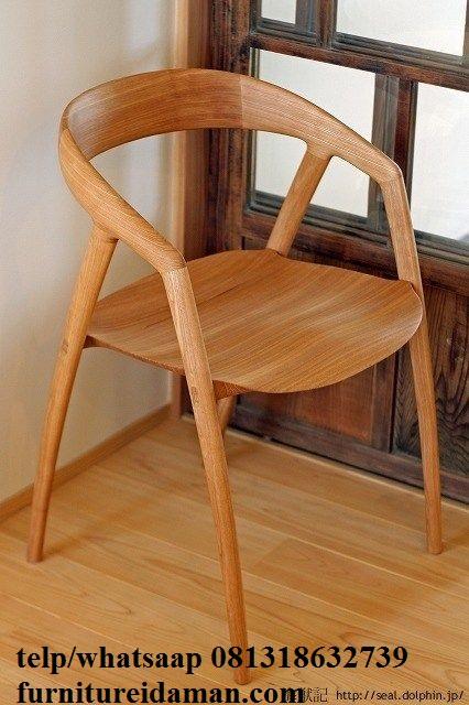 Kursi Cafe Makan Kayu Terbaru Kci 317 Furniture Idaman